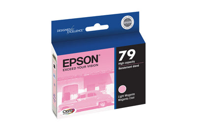 Epson T079620 Artisan 1400/1430 Light Magenta Ink (79), printers ink small format, Epson - Pictureline