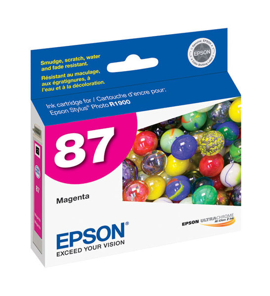 Epson T087320 R1900 Magenta Ink, printers ink small format, Epson - Pictureline