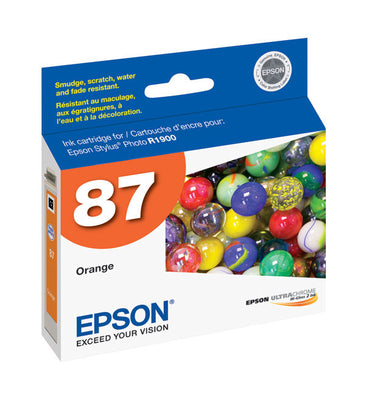 Epson T087920 R1900 Orange Ink, printers ink small format, Epson - Pictureline