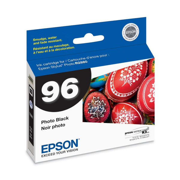 Epson T096120 R2880 Photo Black Ink Cartridge (96), printers ink small format, Epson - Pictureline