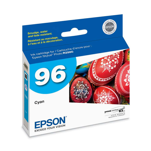 Epson T096220 R2880 Cyan Ink Cartridge (96), printers ink small format, Epson - Pictureline