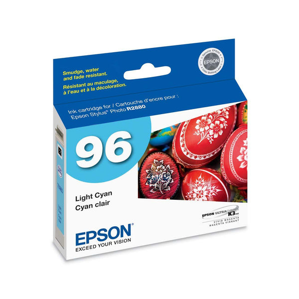 Epson T096520 R2880 Light Cyan Ink Cartridge (96), printers ink small format, Epson - Pictureline