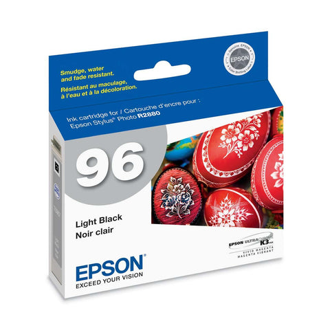 Epson T096720 R2880 Light Black Ink Cartridge (96), printers ink small format, Epson - Pictureline