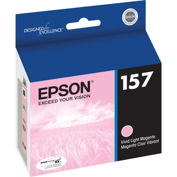 Epson T157620 R3000 Vivid Light Magenta Ink, printers ink small format, Epson - Pictureline