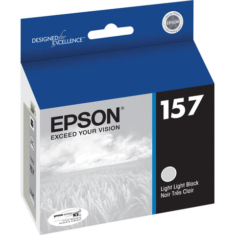 Epson T157920 R3000 Light Light Black Ink, printers ink small format, Epson - Pictureline