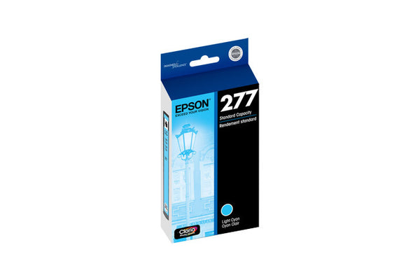 Epson T277520 XP-850 Light Cyan Ink, printers ink small format, Epson - Pictureline