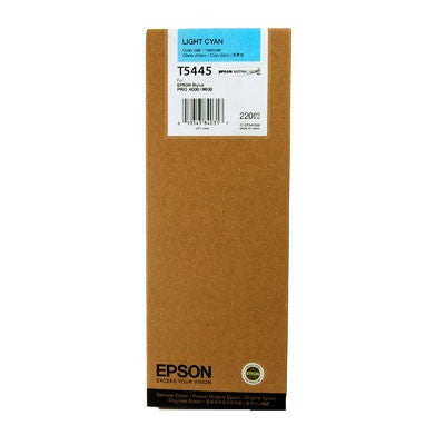 Epson T544500 9600 Light Cyan 220ml Ink, papers ink large format, Epson - Pictureline