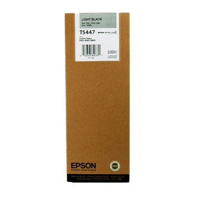 Epson T544700 9600 Light Black 220ml Ink, papers ink large format, Epson - Pictureline