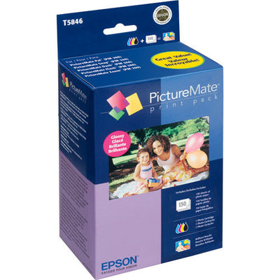 Epson PictureMate 200 Series Print Pack Glossy (150), discontinued, Epson - Pictureline