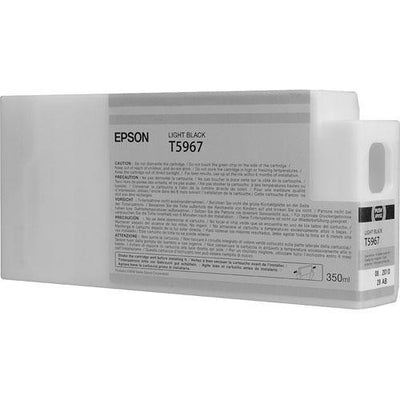 Epson T596700 7900/7890/9890/9900 Ultrachrome HDR Ink 350ml Light Black, papers ink large format, Epson - Pictureline  - 2
