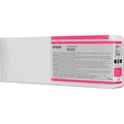 Epson T636300 7900/7890/9890/9900 Ultrachrome HDR Ink 700ml Vivid Magenta, papers ink large format, Epson - Pictureline  - 2