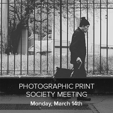 Photographic Print Society Meeting (March 14th), events - past, Pictureline - Pictureline