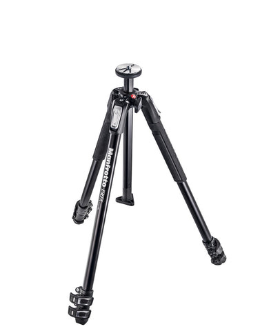 Manfrotto MT190X3 Aluminum 3 Section Tripod, tripods photo tripods, Manfrotto - Pictureline