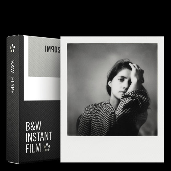 Impossible B&W Film for I-Type Cameras, discontinued, Impossible Films - Pictureline
