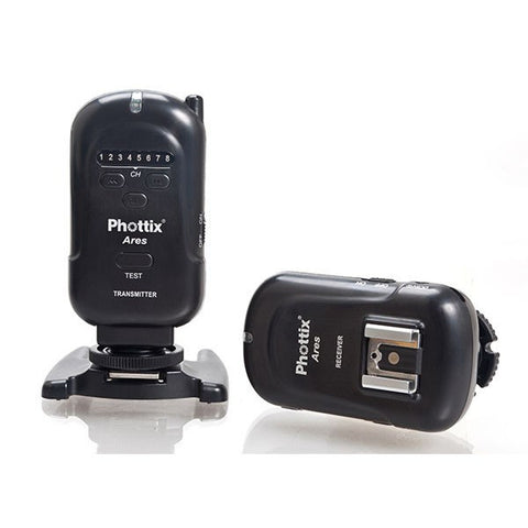 Phottix Ares Wireless Flash Trigger Set (Receiver and Transmitter), lighting wireless triggering, Phottix - Pictureline  - 1