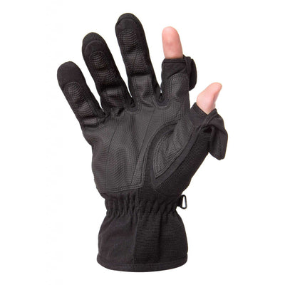 Freehands Men's Stretch Thinsulate Gloves Large (Black)