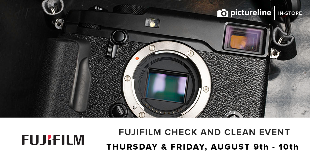 Fujifilm Check and Clean Event (August 9th-10th, Thursday-Friday)