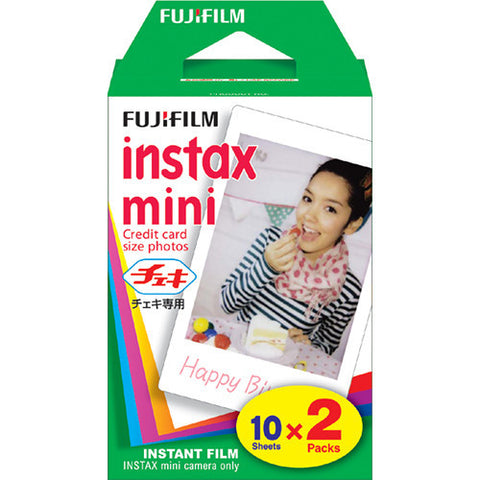 Fujifilm INSTAX Mini Film Twin Pack, camera film, Fujifilm - Pictureline