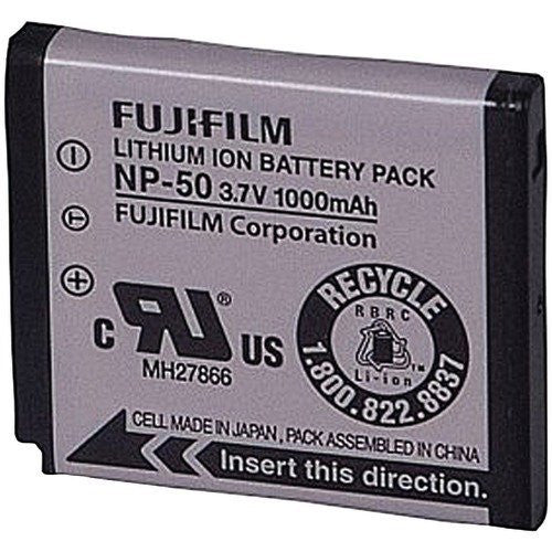 Fujifilm NP-50 Battery, camera batteries & chargers, Fujifilm - Pictureline
