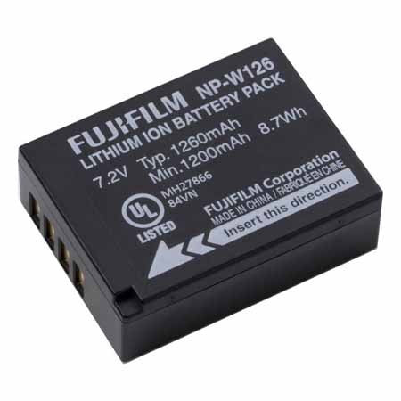 Fujifilm NP-W126 Battery, discontinued, Fujifilm - Pictureline