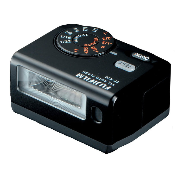Fujifilm EF-X20 Shoe Mount Flash, lighting hot shoe flashes, Fujifilm - Pictureline  - 1