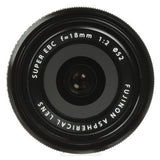 Fujifilm XF 18mm f2.0 Lens, lenses mirrorless, Fujifilm - Pictureline  - 3
