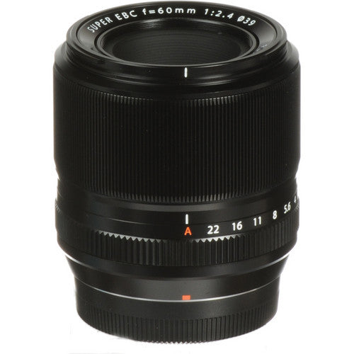 Fujifilm XF 60mm f2.4 Lens, lenses mirrorless, Fujifilm - Pictureline  - 1