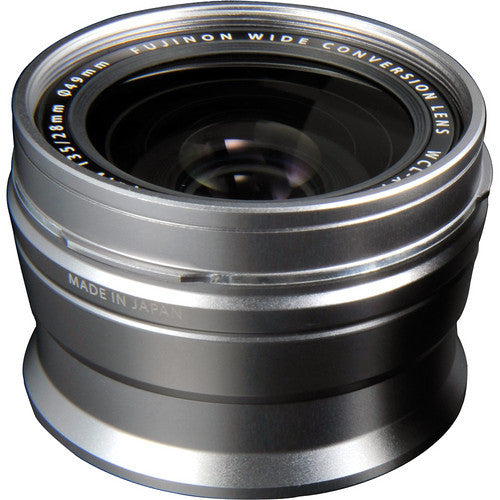 Fujifilm WCL-X100S X100 Wide Conversion Lens Silver, lenses mirrorless, Fujifilm - Pictureline