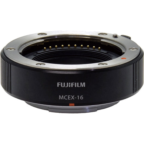 Fujifilm Macro Extension Tube MCEX-16, lenses optics & accessories, Fujifilm - Pictureline  - 1