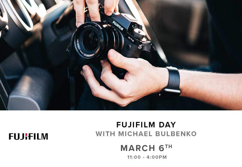 Fujifilm Day (March 6th, Tuesday)
