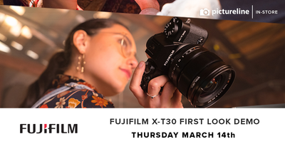 Fujifilm X-T30 First Look Demo (March 14th, Thursday)