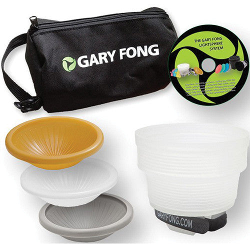 Gary Fong Lightsphere Collapsible Wedding & Event Lighting Kit, lighting speedlite accessories, Gary Fong - Pictureline