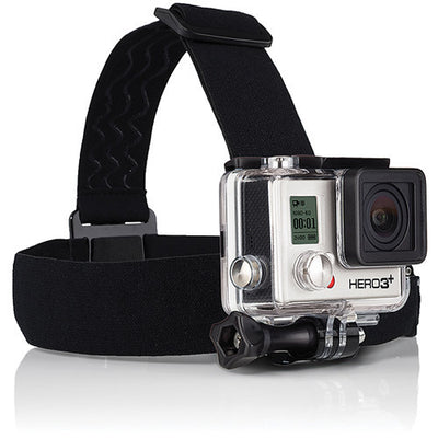 GoPro Head Strap + QuickClip, video gopro mounts, GoPro - Pictureline  - 1