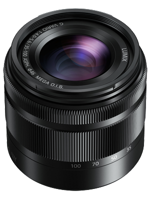 Panasonic Lumix G Ultra Compact Zoom 35-100mm f4-5.6 Lens, lenses mirrorless, Panasonic - Pictureline