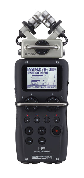 Zoom H5 Handy Recorder, video audio microphones & recorders, Zoom - Pictureline  - 1