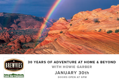 30 Years of Adventure at Home & Beyond (January 30th, Tuesday)