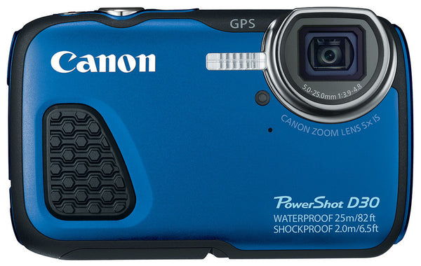 Canon Powershot D30 Digital Camera, camera point & shoot cameras, Canon - Pictureline  - 1