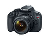 Canon EOS Rebel T5 18-55 IS II Kit (Black), discontinued, Canon - Pictureline  - 2