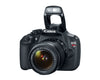 Canon EOS Rebel T5 18-55 IS II Kit (Black), discontinued, Canon - Pictureline  - 4