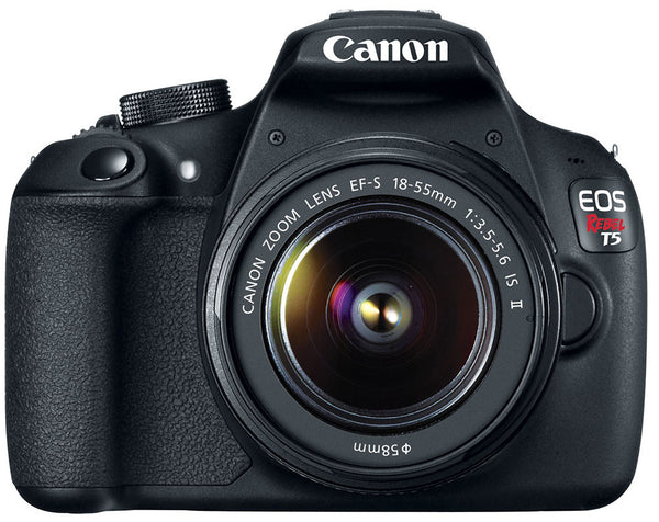 Canon EOS Rebel T5 18-55 IS II Kit (Black), discontinued, Canon - Pictureline  - 1