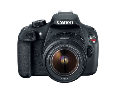 Canon EOS Rebel T5 18-55 IS II Kit (Black), discontinued, Canon - Pictureline  - 3