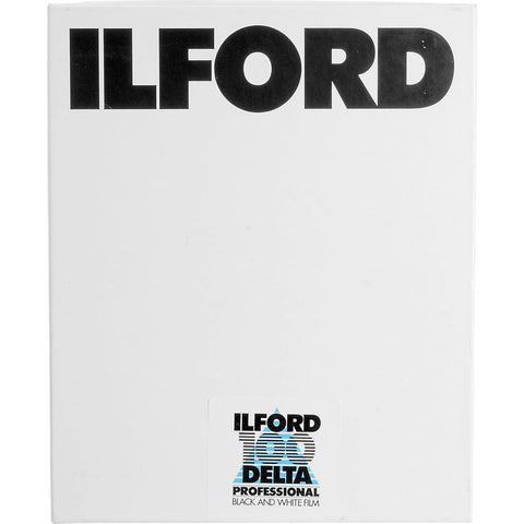 Ilford Delta 100 4x5 Black & White Print Negative Film (25 Sheets), camera film, Ilford - Pictureline