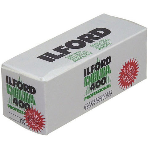Ilford Delta 400 Pro 120 Black & White Negative Film (One Roll), camera film, Ilford - Pictureline