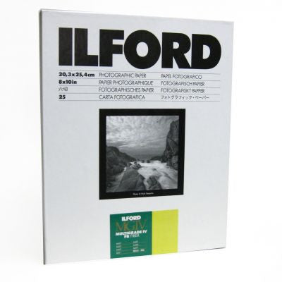 Ilford MG Fiber Matte 8x10 25, camera film darkroom, Ilford - Pictureline