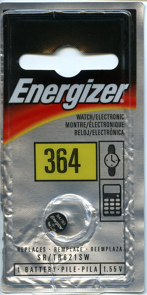 Energizer 364 Watch Battery, camera batteries & chargers, Energizer - Pictureline