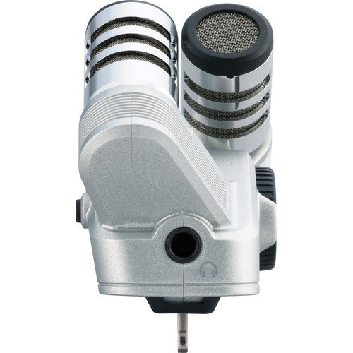 Zoom iQ6 Stereo X/Y Microphone for iOS Devices w/Lightning Connector, video audio microphones & recorders, Zoom - Pictureline  - 1