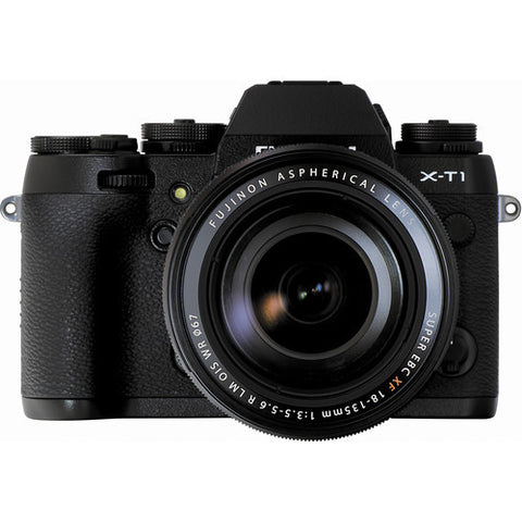 Fujifilm X-T1 Digital Camera w/ 18-135mm Lens Kit (Black), camera mirrorless cameras, Fujifilm - Pictureline  - 1