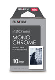 Fujifilm INSTAX Mini Monochrome Instant Film (10 Exposures), camera film, Fujifilm - Pictureline  - 1