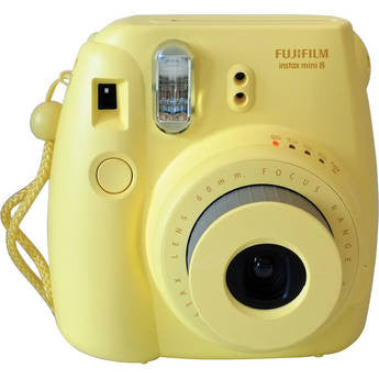 Fujifilm INSTAX Mini 8 Instant Film Camera (Yellow), camera film cameras, Fujifilm - Pictureline