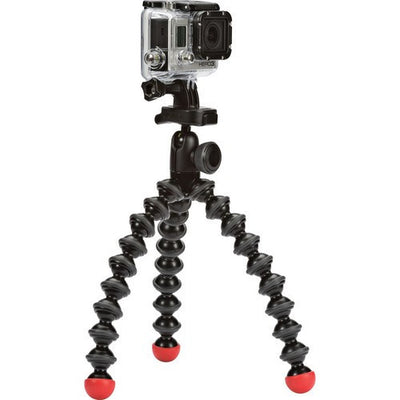 Joby GorillaPod Action Tripod with Mount for GoPro (Black/Red), video gopro mounts, Joby - Pictureline  - 1